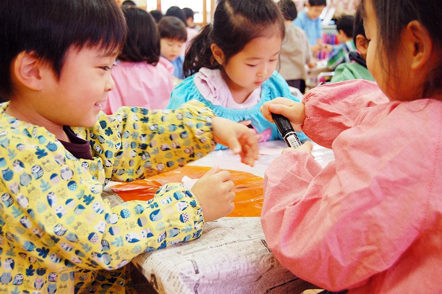 西南幼稚園の一日